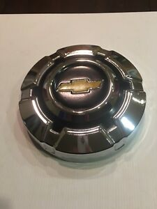 Chevy Truck Hubcap Dog Dish Nos Chrome 1969 1970 1971 1972 1973 1974 1975 Mint