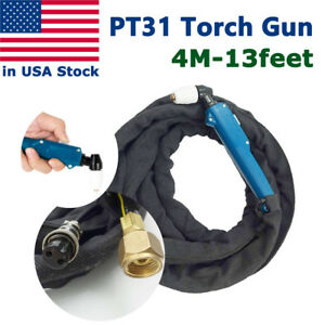 Pt 31 Plasma Cutting Torch Power Cable Hose 13 Feet