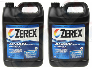 2pk Zerex Coolant Antifreeze For Honda Acura Civic Accord Prelude Odyssey Cr V
