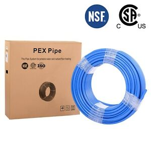 1 2 X 300ft Blue Pex Tubing pipe nsf 1 2 inch 300 Ft Potable Water Non Barrier