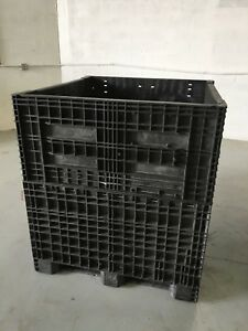 Heavy Duty Collapsible 45 X 48 X 50 Pallet Container With Top