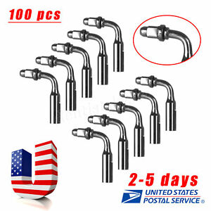 100pcs Dental Ed2 Endo Tips For Satelec Dte Ultrasonic Scaler Handpiece Us Ys a