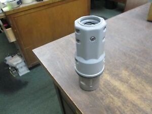 Crouse hinds Arktite Plug Apj 6485 M72 60a 600v 3w 4p missing Bushing Used