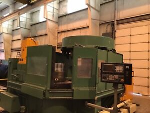 Bulk Sell 4 Warner Swasey Gray Cnc Vertical Turning System Machining Centers