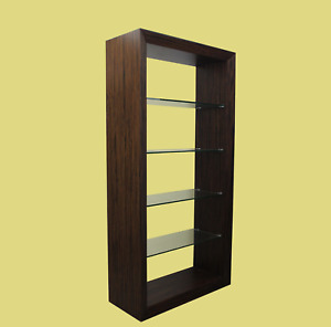 Macassar Shelving Unit Bookcase Mid Century Bookcase Shelving Unit