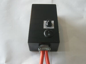 0 100 Farm Motor Speed Controller Vehicle Light Dimmer 0 24 Or 12 Volt 10a Pwm