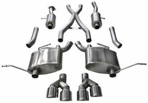 Corsa Sport Exhaust For 2014 2020 Jeep Grand Cherokee Summit 5 7l 14992