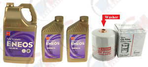 Genuine Oil Filter 15208 65f0e Eneos 5w 30 7qts Oil For Nissan
