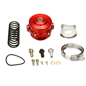 New Car Turbo Blow Off Valve Bov Vband Flange Spring 5 80 18 85 Psi 50mm Red