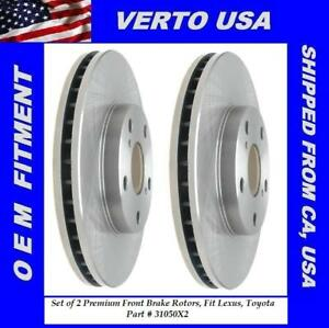 Front Brake Rotors For Toyota Camry 1992 2006 Base On Fitment Chart