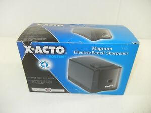 X acto Magnum Office Deluxe Electric Pencil Sharpener Black 1645