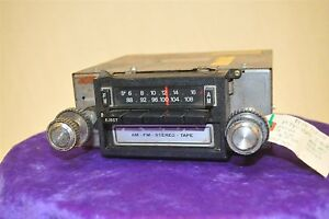 Old Ford Fomoco 1974 1979 Vintage Original Car Dash Radio Tape Cassette