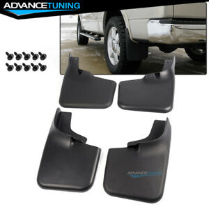 Fits 04 14 Ford F150 Mud Flaps Splash Guards With Fender Flares 4pc Set