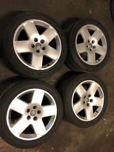 04 09 Audi A8 D3 18 Inch Alloy Wheel Rim Wheels Rims 5 Spoke Oem Set Of 4