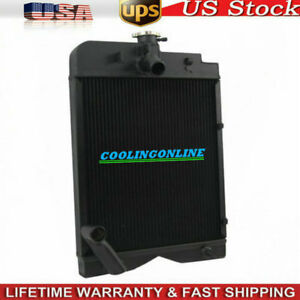Tractor Radiator Fit For Massey Ferguson Tea20 Te20 To20 To30 To35 Gas 35 202 Mf