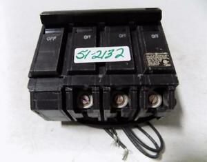 General Electric 70amp Thqb 3 Pole Tqsta1 Circuit Breaker