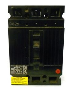 General Electric Circuit Breaker Ted134070wl Ted134070 480 Vac 70a 40c