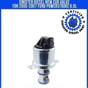 Sinister Diesel New Egr Valve For 2005 2007 Ford Powerstroke 6 0l