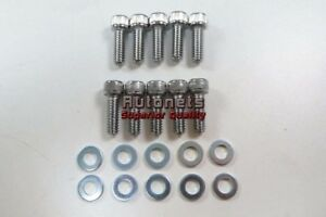 Sbc Timing Chain Cover Bolt Kit 283 305 327 350 383 400 Front Small Block Chevy
