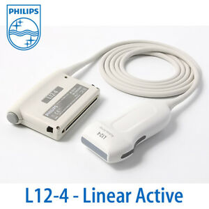 Philips L12 4 Linear Probe For Clearvue Linear Active Msk Vascular Transducer