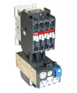 Abb A9 30 10 Contactor With Ta25du Overload Relay