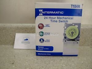 Intermatic T104m Timer Mechanism 208 277 Volt Dpst Water Pool Heater Free Ship