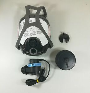 3m Powerflow Face mounted Powered Air Purifying Respirator Papr