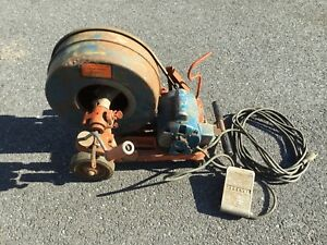 General s Drain Cleaner Sewer Machine Model 63 Used