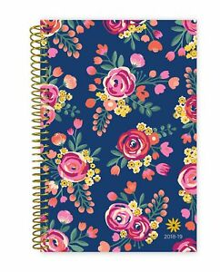 2018 2019 Academic Year Day Planner Bloom Daily Planners Monthly And Weekly