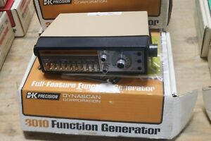 Bk Precision Dynascan Corp 3010 Function Generator In Original Box