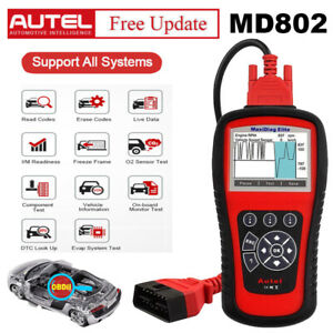 Autel Maxidiag Md802 All System Diagnostic tool Support Ols epb can Better Md805