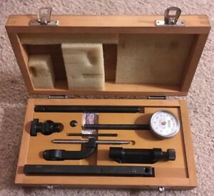 Baker Universal Dial Test Indicator Set 0 001 0 1 Range 0 001 Machinist Tool