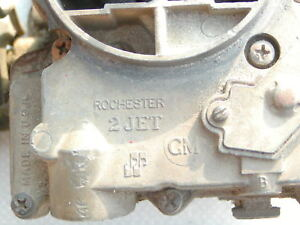 Rochester 2 Jet Two Barrel Carb 1976 Buick Used Rebuildable Core