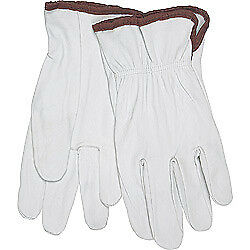 Memphis 3601m Soft Premium Grain Goatskin Leather Work Gloves Size M 12 Pair
