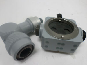 Carl Zeiss T Beam Splitter With Stereo Observer Tube For Surgical Microscope