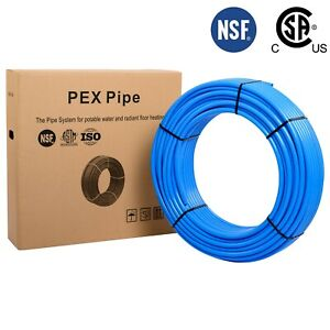 3 4 X 300ft Blue Pex B Tubing pipe Potable Water Nonbarrier Nsf Certified