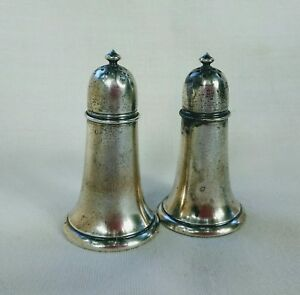 Gorham Sterling Silver Salt Pepper Shakers 3 3 4 Tall 94 Grams No Mono