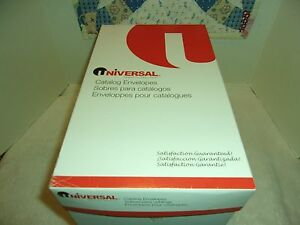 Universal Catalog Envelopes 28 Lb Brown Kraft 9 X 12 250 Catalog Envelopes