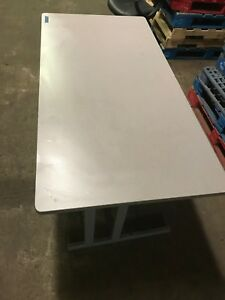 Formica Topped Desk table work Station Dimensions 60 X 30 X 30 No Drawers