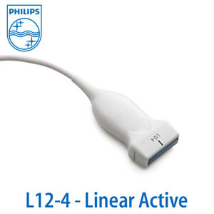 New Philips L12 4 Probe Linear Compact Connecter Xres Transducer
