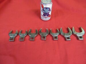 S k 1 2 dr crowfoot Wrenches 7pc 15 16 To 1 1 2 42269 42277 v nice sk8 15 18