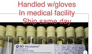 24x Bd Vacutainer acd Solution A Blood Collection Tubes Prp prf ships Same Day