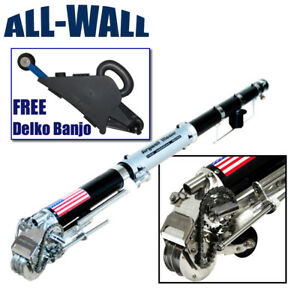 Drywall Master King Pro Automatic Taping Tool Free Delko Banjo Taper Save 89