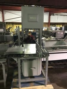Hobart 5801 Commercial Meat Saw Vertical Band Saw Butcher Beef Slicer Used