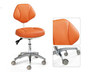 Dental Micro Fiber Leather Dentist Chair Doctor s Adjustment Mobile Chair Hs 4