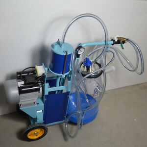 Goat Cow Piston Milking Machine Milker Transparent Bucket 170685