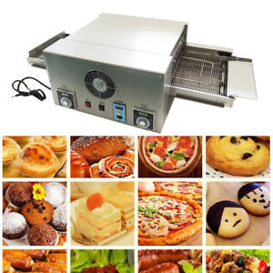Commercial Pizza Oven Conveyor Electric 12 Belt 220v 6 4kw Rapid Cook