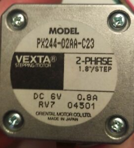 Vexta Stepping Motor Px244 02aa c23 2 phase
