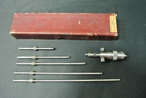 Starrett No 124 a Inside Micrometer Set
