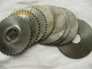 Ussr Lot Slitting Slotting Saw Milling Cutter Disc 80 Mm